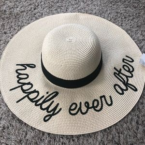 NWT Happily Ever After sun hat